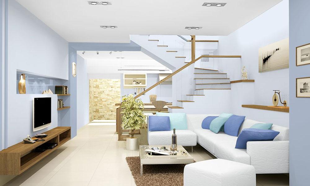 Nguyên tắc chọn màu sơn nội thất
