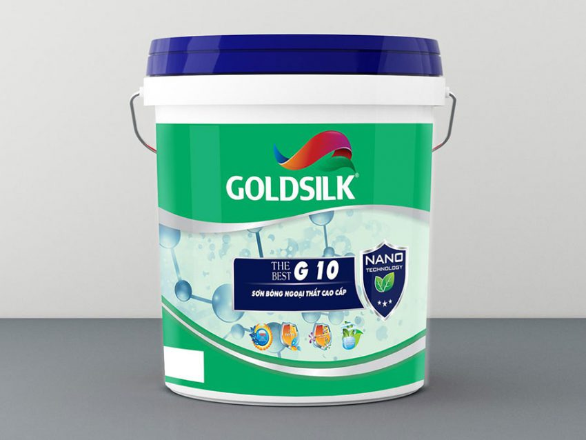 Sơn bóng ngoại thất cao cấp Goldsilk